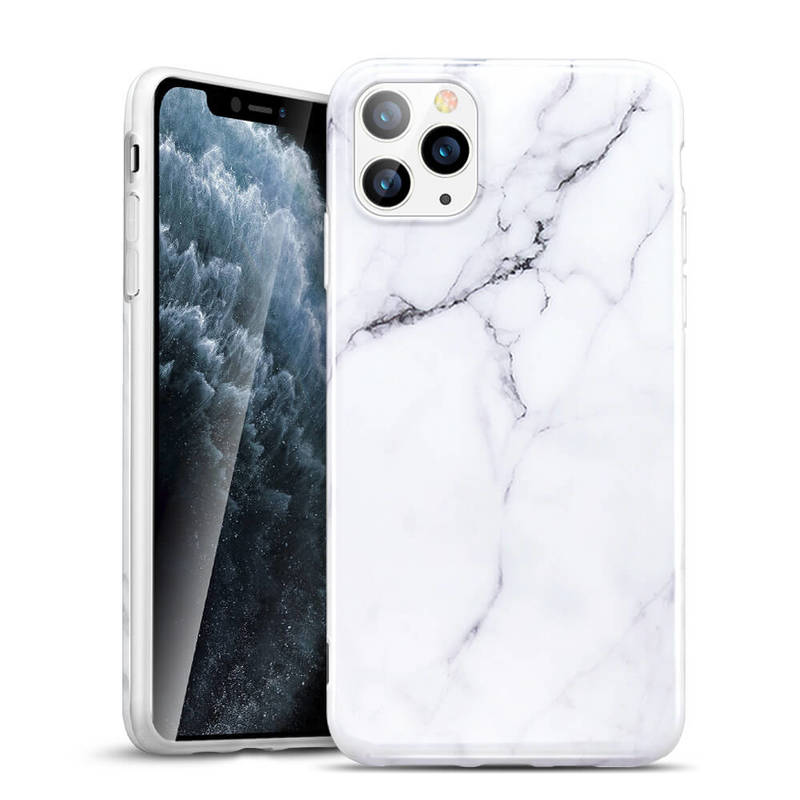 iPhone 11 Pro Max Marble Slim Soft Case 1