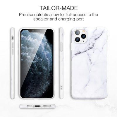 iPhone 11 Pro Max Marble Slim Soft Case 7