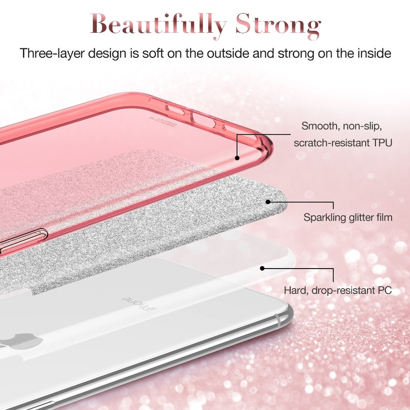 iphone 11 makeup glitter case 2