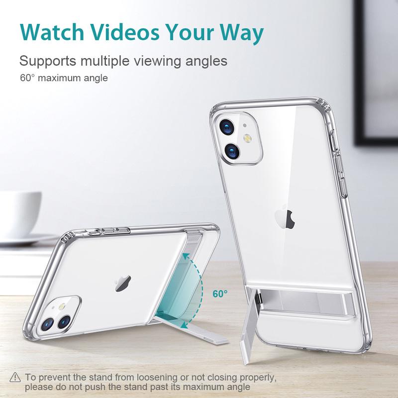 iphone 11 metal kickstand case 1