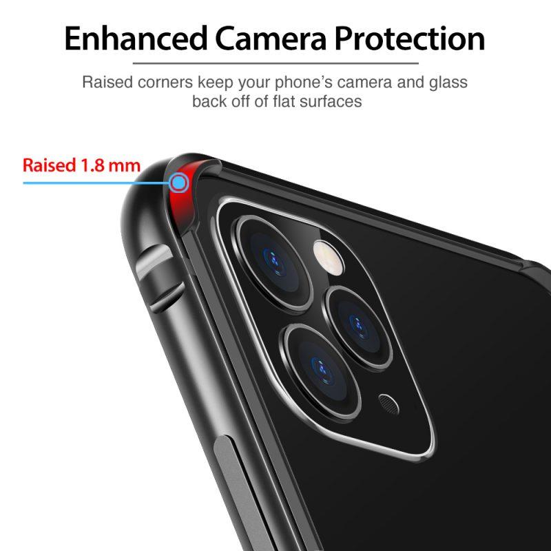 iphone 11 pro max crown metal bumper case 3