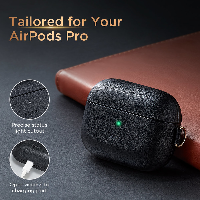 Metro Light Series Faux Leather AirPods Pro Case 3
