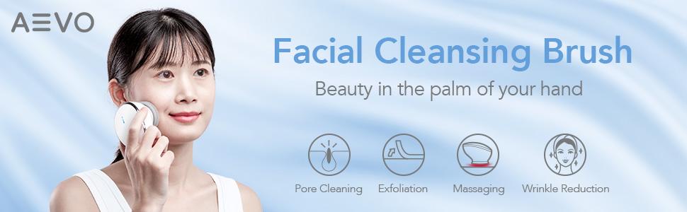 AEVO Facial Cleansing Brush 4