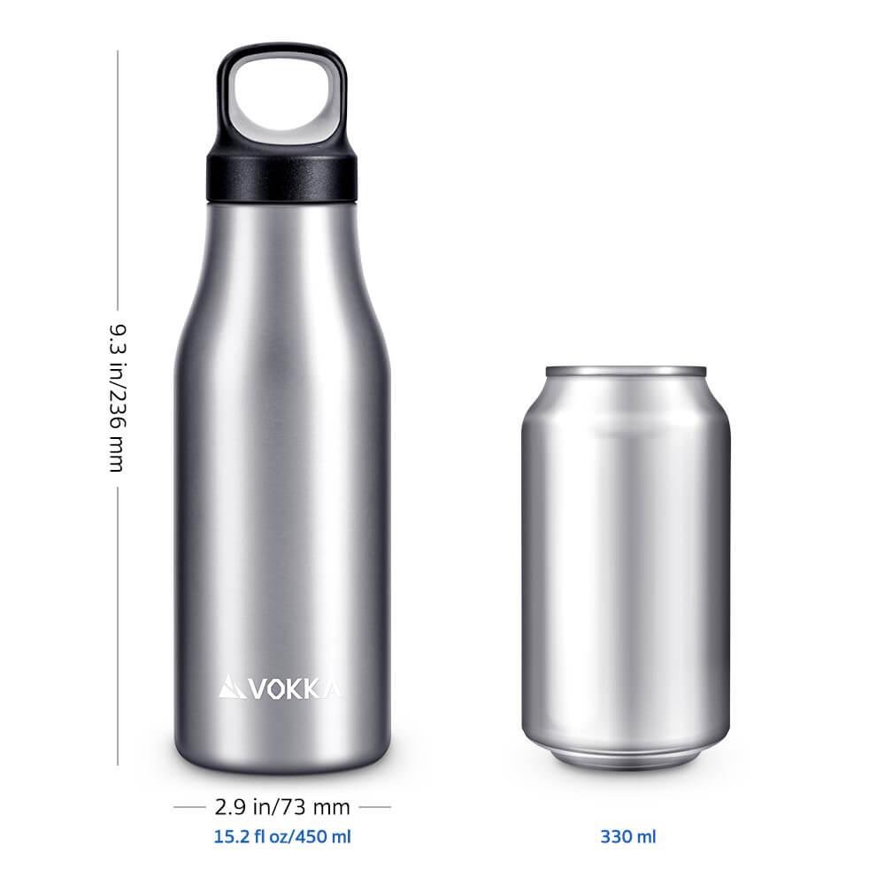 VOKKA Stainless Steel Water Bottle 9 2