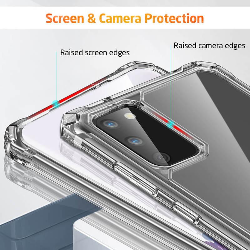 Galaxy S20 Air Armor Clear Protective Case 7