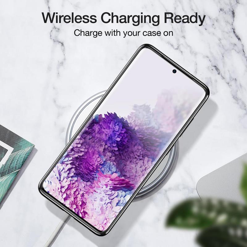 Galaxy S20 Essential Crown Clear Thin Case 1