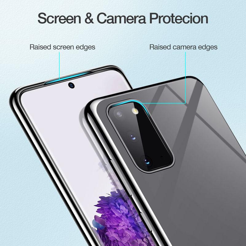 Galaxy S20 Essential Crown Clear Thin Case 5