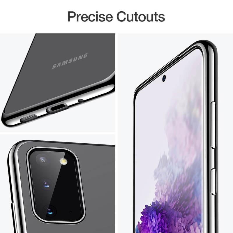 Galaxy S20 Essential Crown Clear Thin Case 7