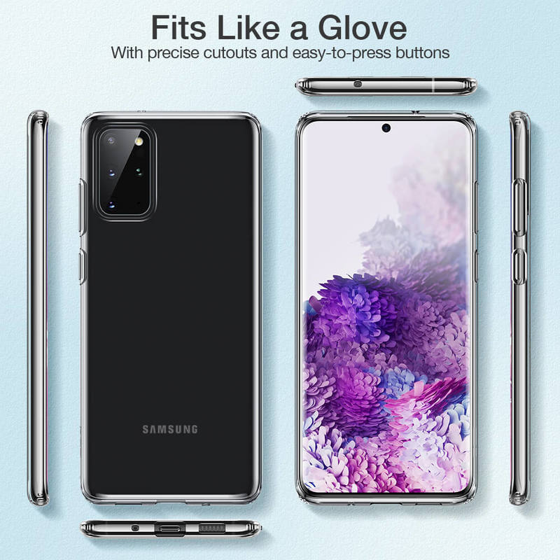 Galaxy S20 Plus Essential Zero Slim Clear Soft TPU Case 8