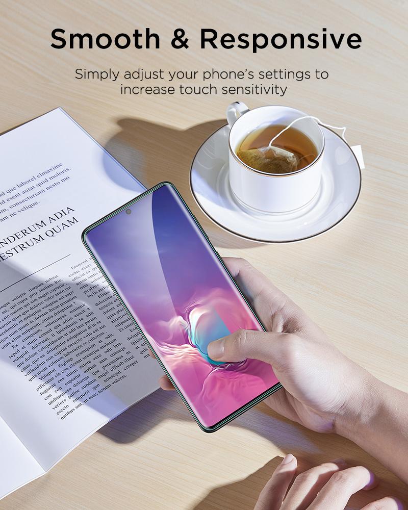 Galaxy S20 Plus Liquid Skin Full Coverage Screen Protector 6