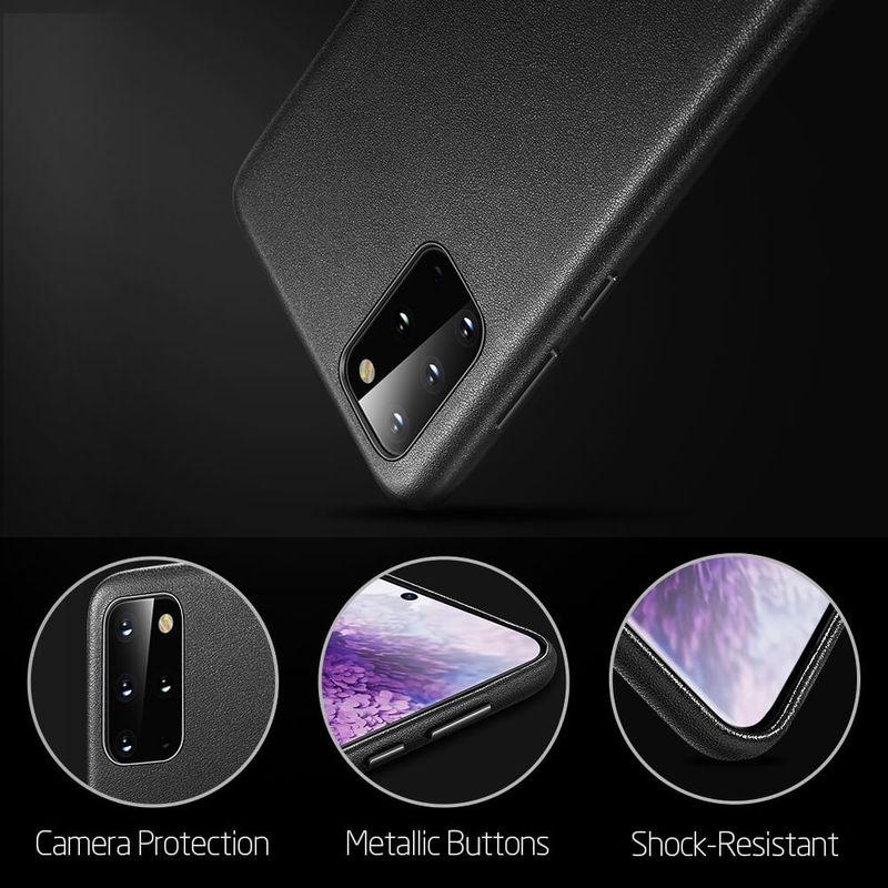 Galaxy S20 Plus Metro Premium Leather Phone Case 6