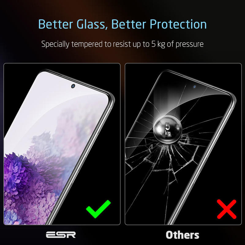 Galaxy S20 Tempered Glass Full Coverage Screen Protector 6 1