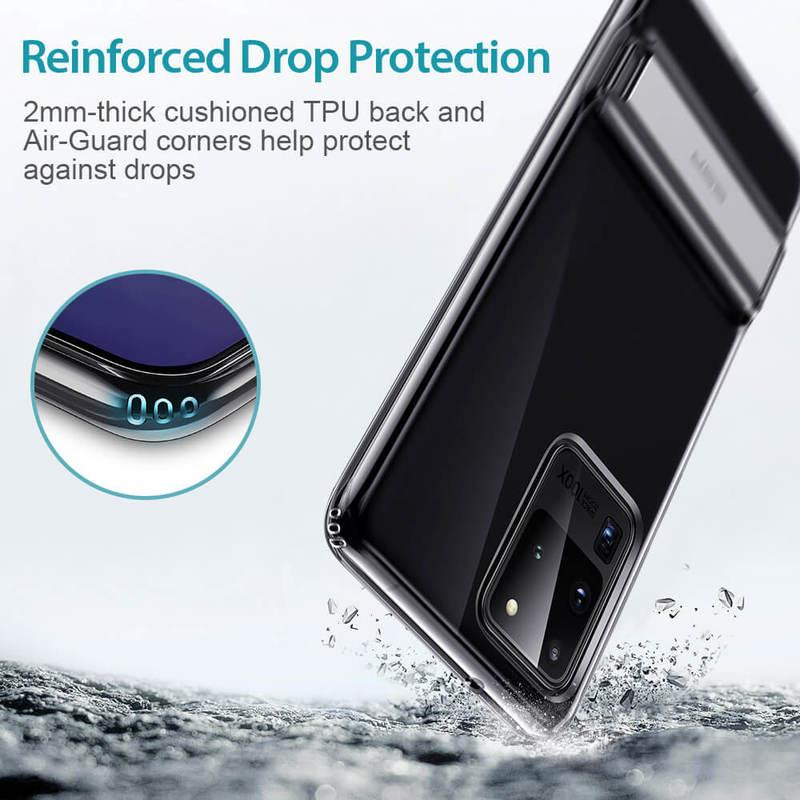 Galaxy S20 Ultra Metal Kickstand Phone Case 5
