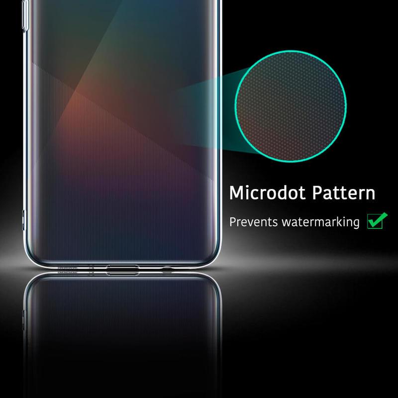 Galaxy A51 Essential Zero Slim Clear Soft TPU Case 8
