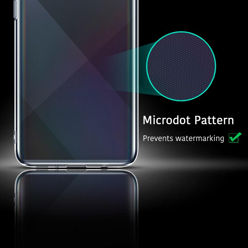 Galaxy A71 Essential Zero Slim Clear Soft TPU Case 1