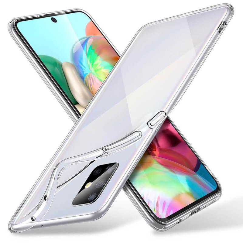 Galaxy A71 Essential Zero Slim Clear Soft TPU Case 2