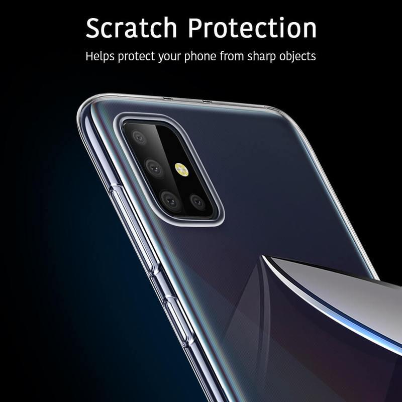 Galaxy A71 Essential Zero Slim Clear Soft TPU Case 7