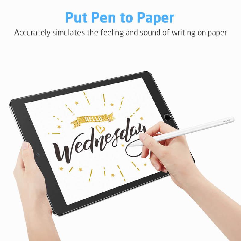 iPad AirAir 2iPad Pro 9.7iPad 9.7 20182017 Paper Like Screen Protector 2