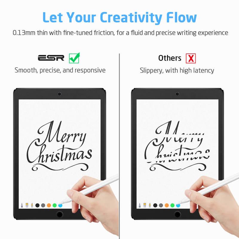 iPad AirAir 2iPad Pro 9.7iPad 9.7 20182017 Paper Like Screen Protector 3