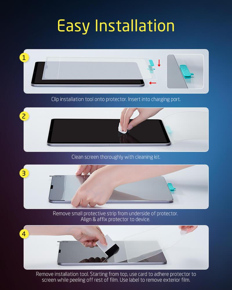 iPad Pro 11 2020 Matte Screen Protector 2