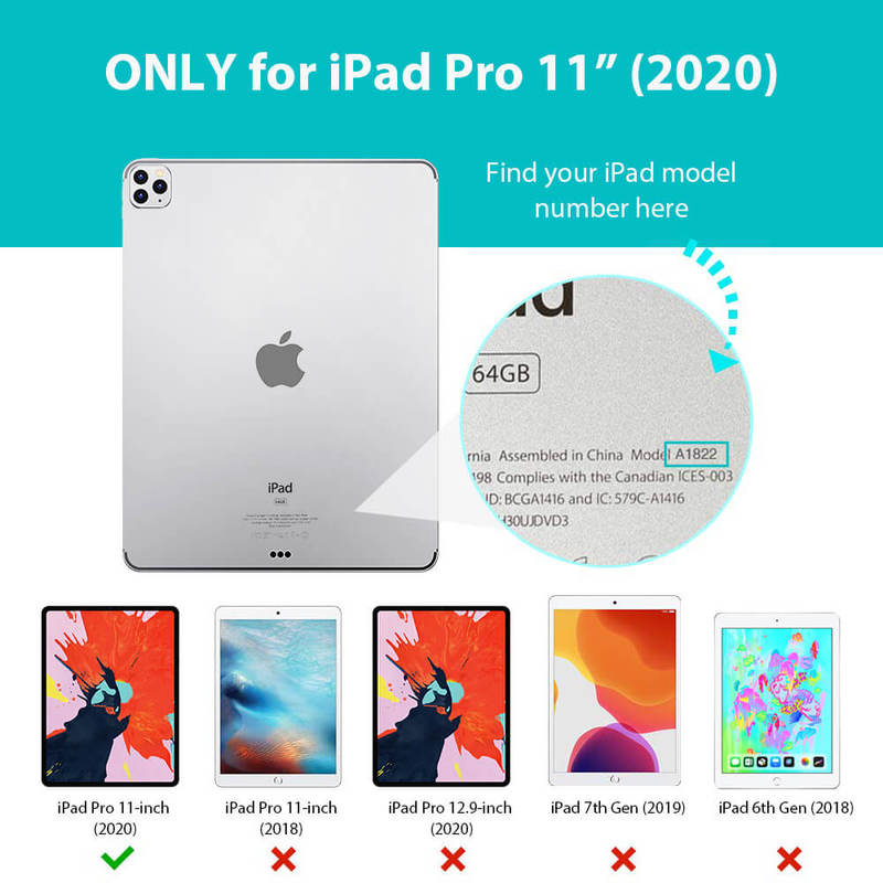 iPad Pro 11 2020 Rebound Magnetic iPad Pro Case 5