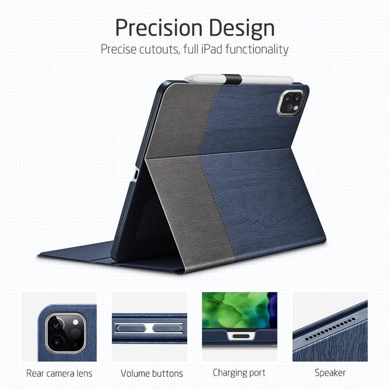 iPad Pro 11 2020 Urban Premium Folio Pencil Case 2 3
