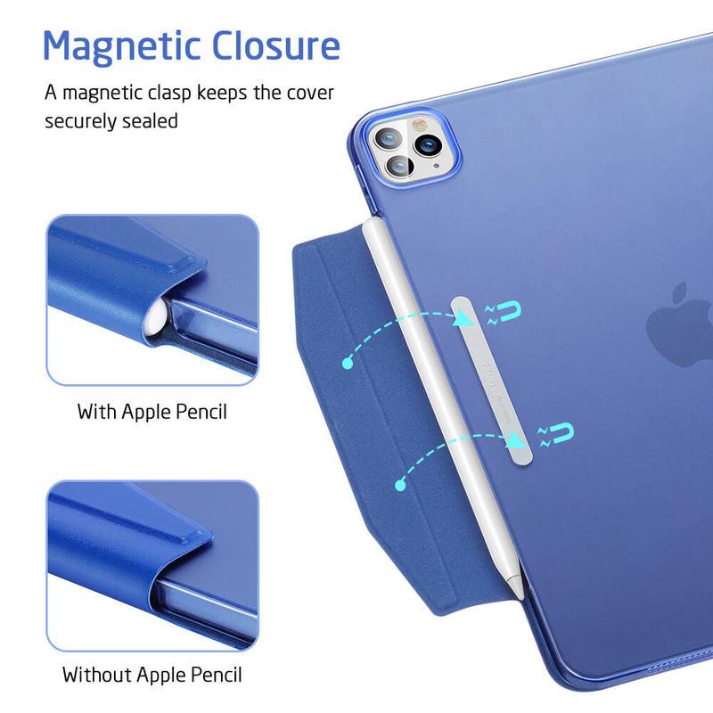 iPad Pro 11 2020 Yippee Trifold Hard Smart Case 10