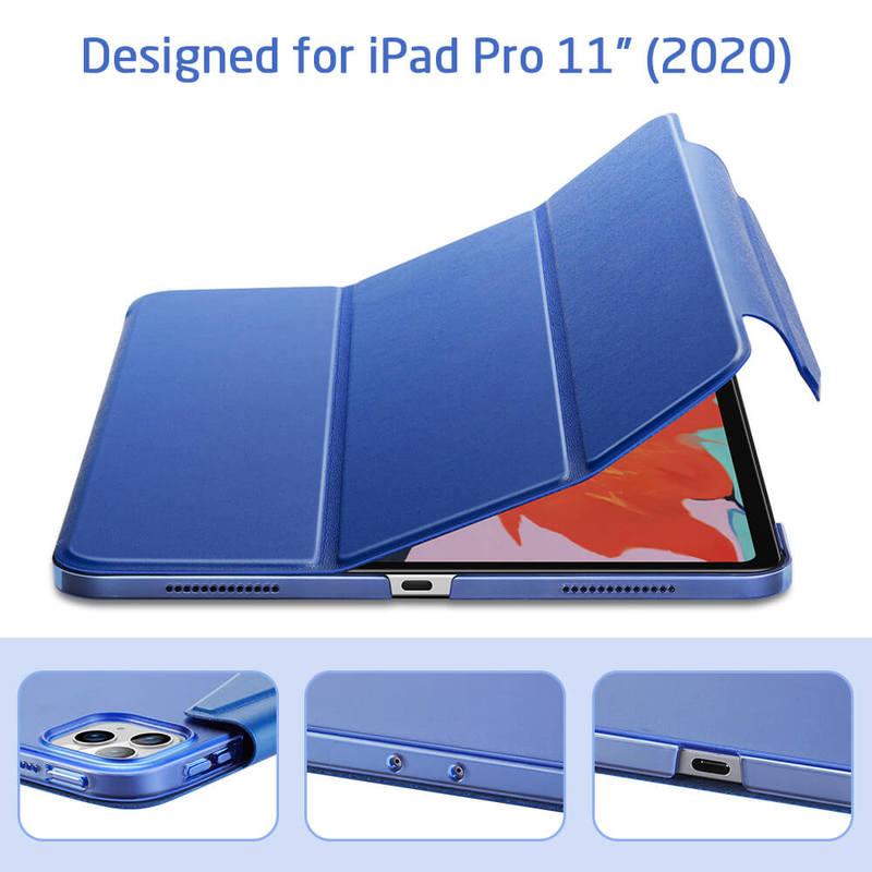 iPad Pro 11 2020 Yippee Trifold Hard Smart Case 3