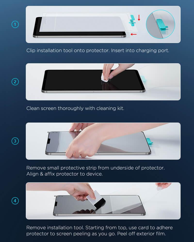 iPad Pro 12.9 2020 Paper Like Screen Protector 5