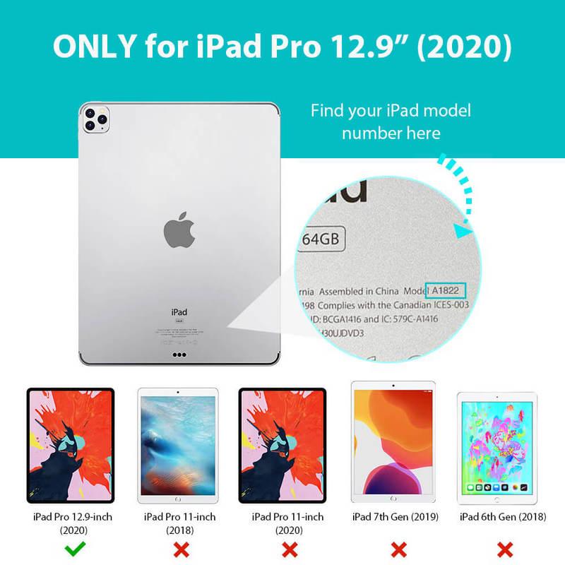 iPad Pro 12.9 2020 Rebound Magnetic iPad Pro Case 5