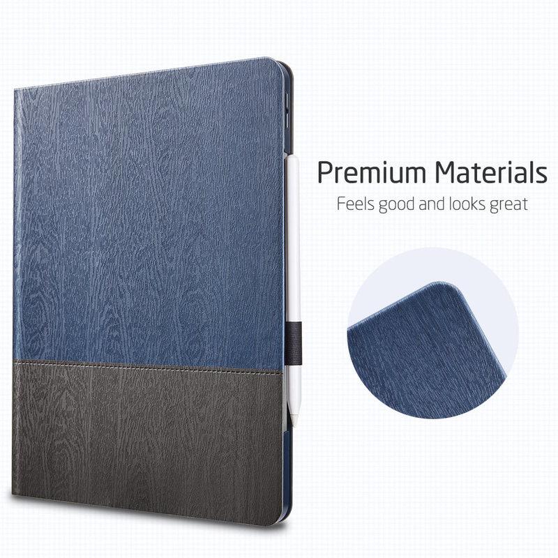 iPad Pro 12.9 2020 Urban Premium Folio Pencil Case 8