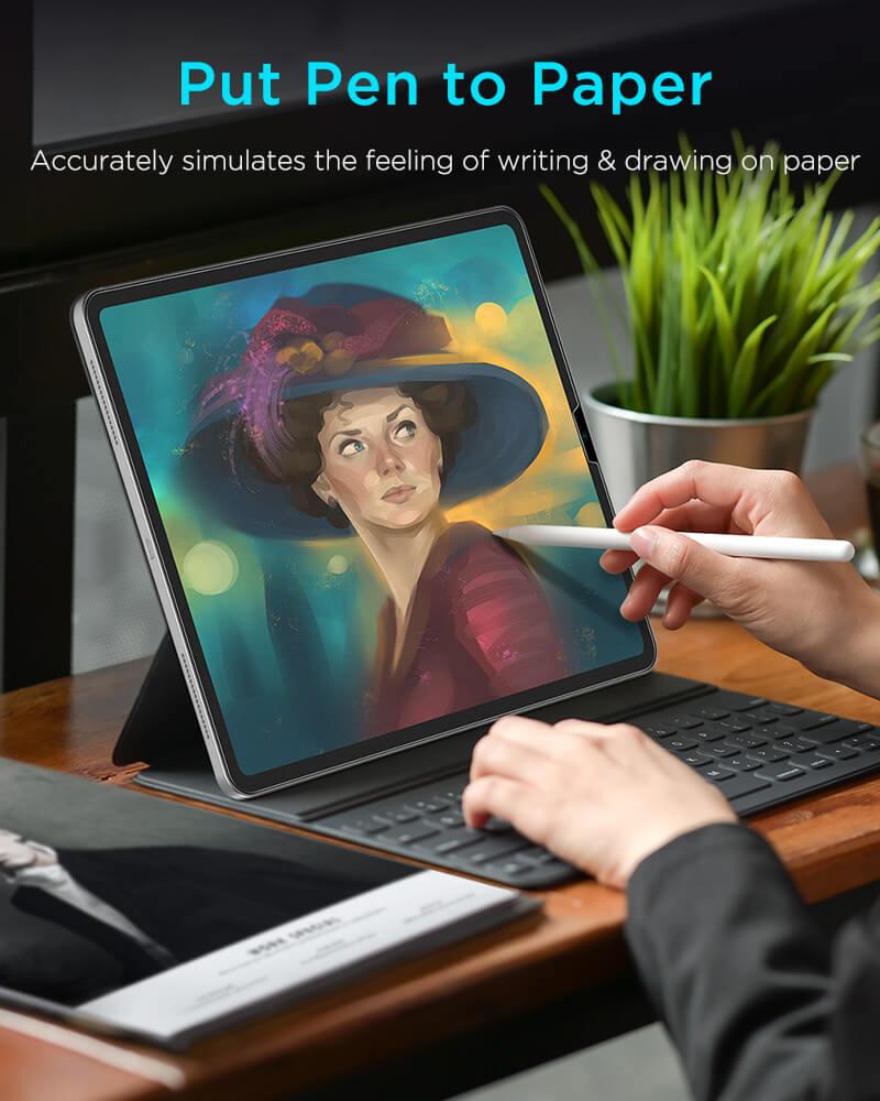 iPad Pro 12.9 20202018 Paper Like 12.9 Inch Screen Protector 1