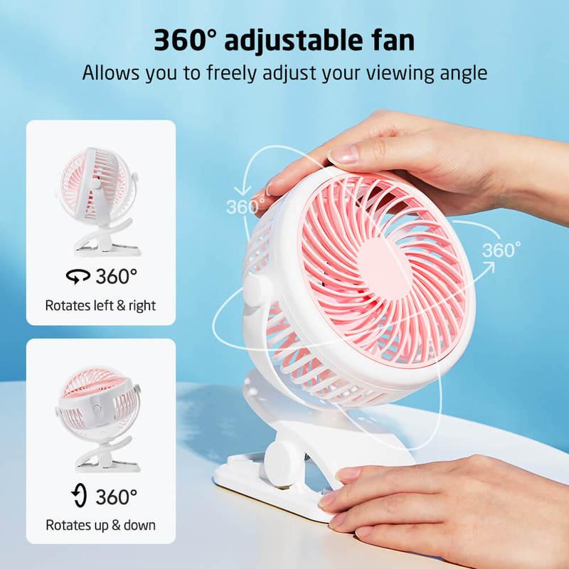 ESR Clip On Desk Fan 3