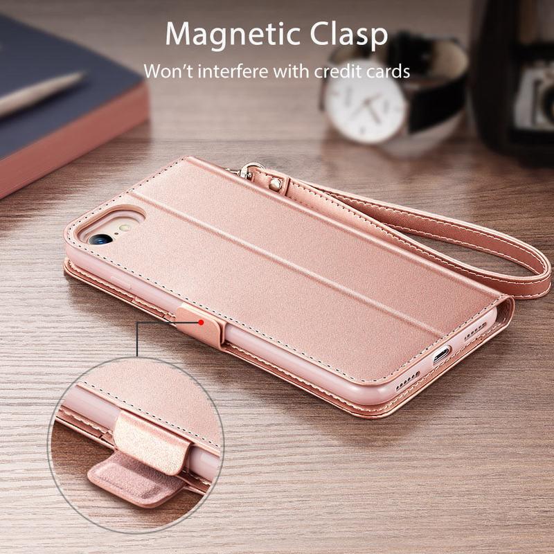 iPhone SE 202087 Flip Wallet Case 5