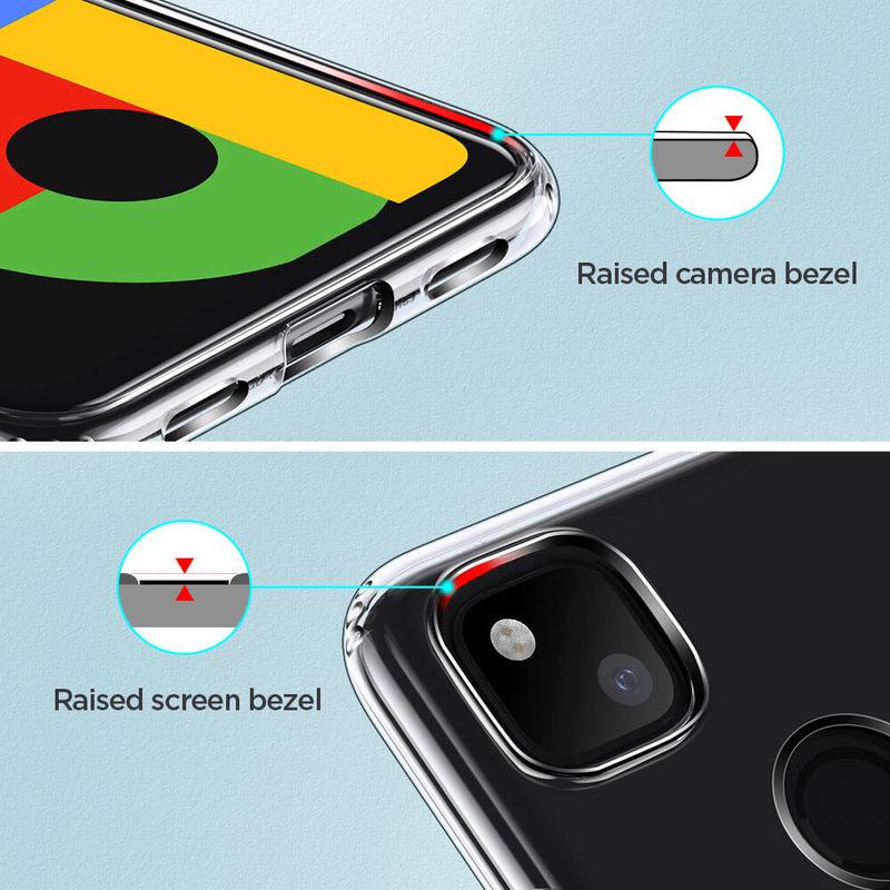 Pixel 4a Essential Zero Slim Clear Soft TPU Case 1