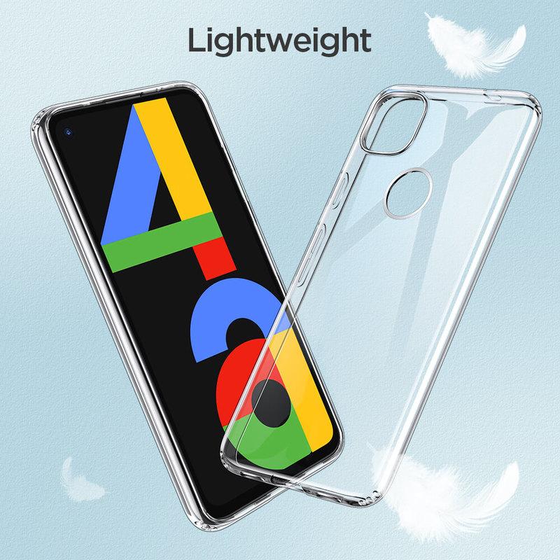 Pixel 4a Essential Zero Slim Clear Soft TPU Case 3 1