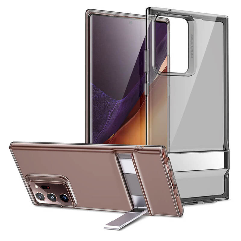 Galaxy Note20 Ultra 5G Metal Kickstand Phone Case with Stand 2 3