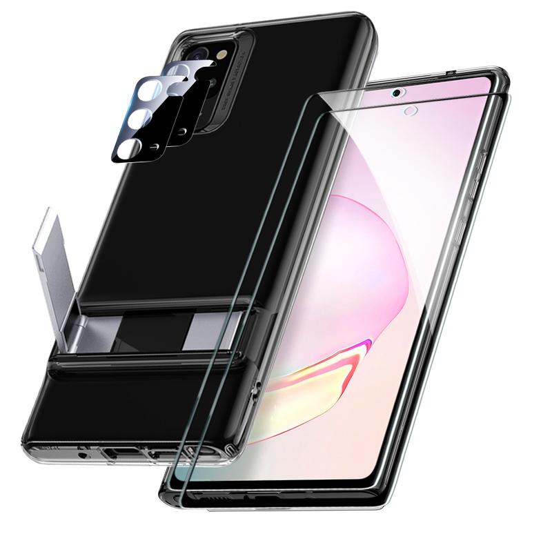 Galaxy Note 20 Metal Kickstand Protection Bundle 2