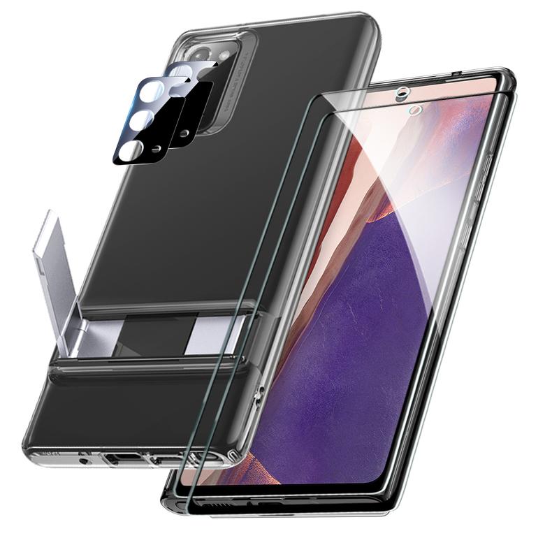 Galaxy Note 20 Metal Kickstand Protection Bundle 3