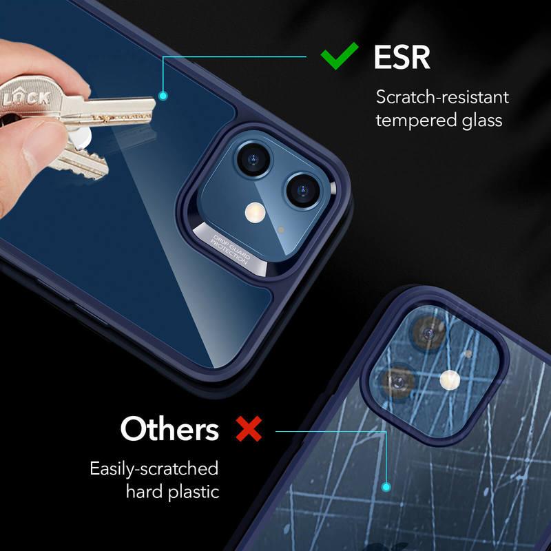 iPhone 12 mini Echo Tempered Glass Hard Case 4