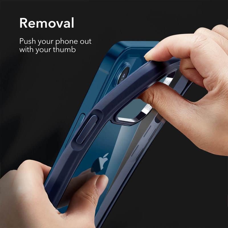 iPhone 12 mini Echo Tempered Glass Hard Case 7