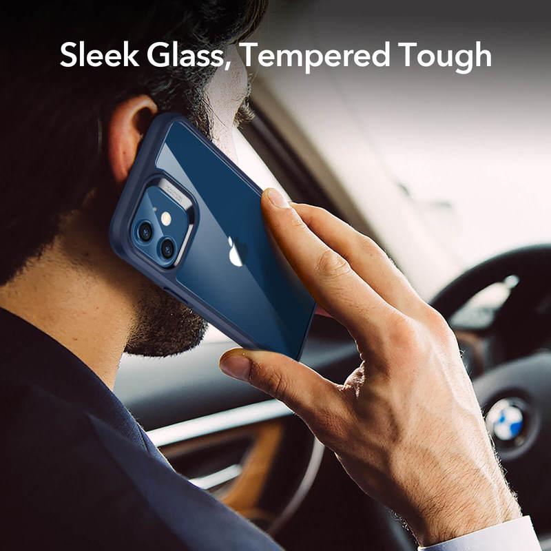 iPhone 12 mini Echo Tempered Glass Hard Case 8