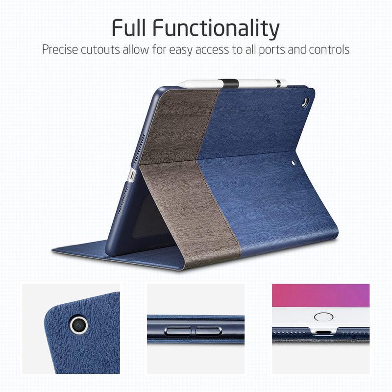 iPad 8th Gen 2027 Urban Premium Folio Case with Pencil Holder 1