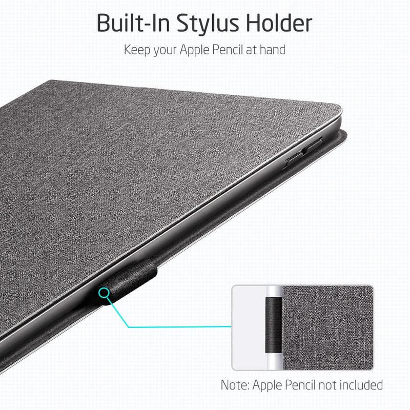 iPad 8th Gen 2029 Urban Premium Folio Case with Pencil Holder 1