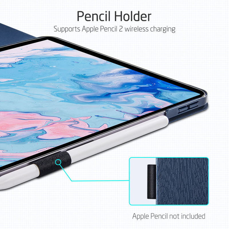 iPad Air 4 2020 Urban Premium Folio Case with Pencil Holder14