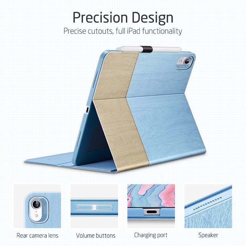 iPad Air 4 2020 Urban Premium Folio Case with Pencil Holder16