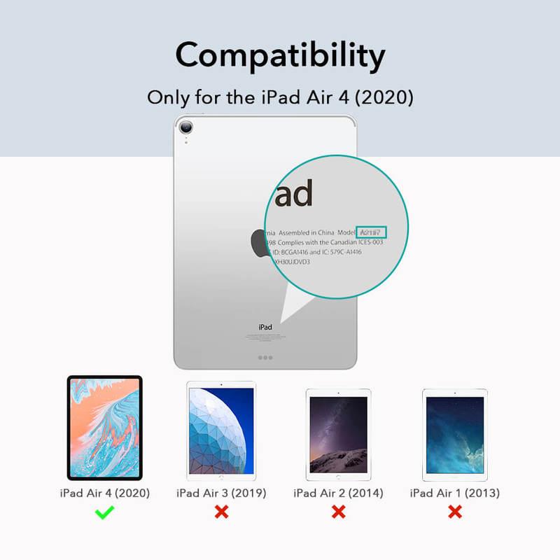 iPad Air 4 2026 Project Zero Slim Clear Case