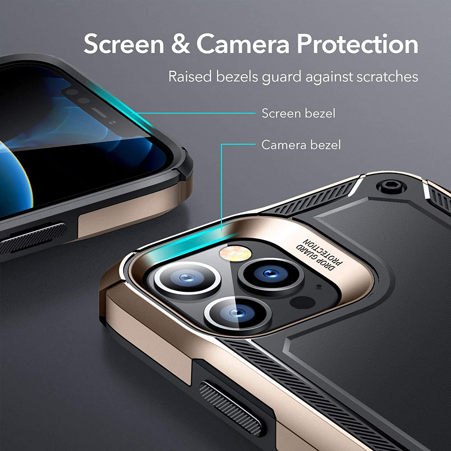iPhone 12 Pro Machina Tough Protective Case with Stand 2 2