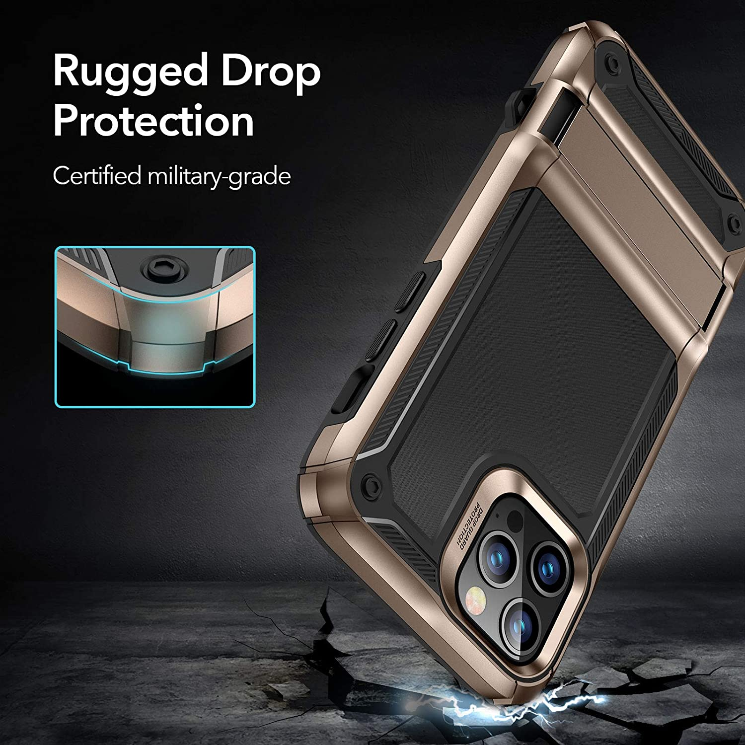 iPhone 12 Pro Machina Tough Protective Case with Stand 4