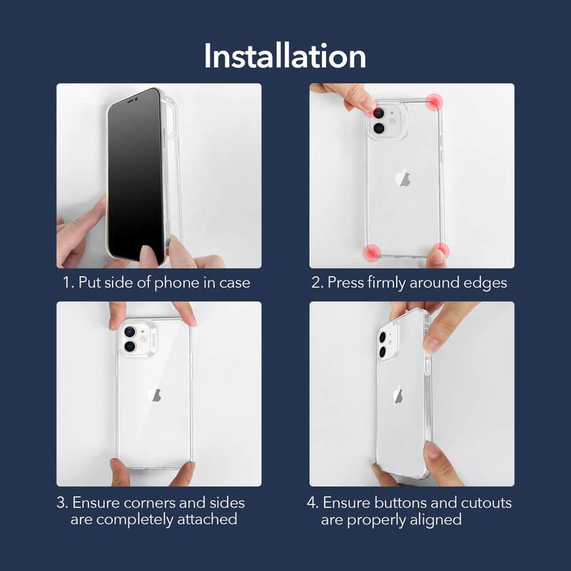 iPhone 12 mini Project Zero Slim Clear Case 9
